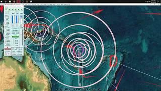 10/13/2018 -- New Deep Large Earthquake (M6.7) -- Earthquake watch next 7-10 days