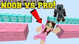 Minecraft: NOOB VS PRO!!! KAWAII RUN! - Custom Map thumbnail