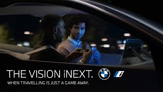 The BMW Vision iNEXT. When travelling is just a game away.