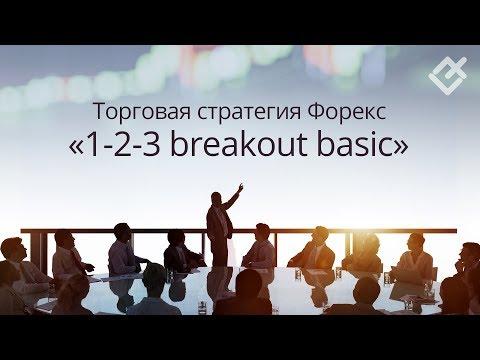 Торговая стратегия Форекс: «1-2-3 Breakout Basic»