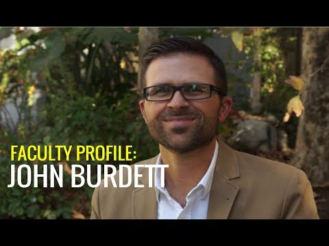 Faculty Profile: John Burdett