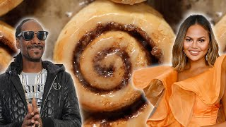 Which Celebrity Makes The Best Cinnamon Roll  • Tasty