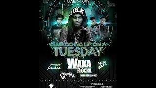 Waka Flocka - San Marcos - Turn up Godz Tour