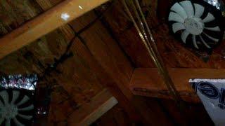 upgrade passive attic vents with a pc case fan