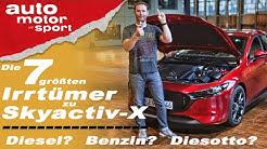 Rettet Mazda den Verbrennungsmotor? 7 Irrtümer zu Skyactiv-X - Bloch erklärt #79   auto motor sport