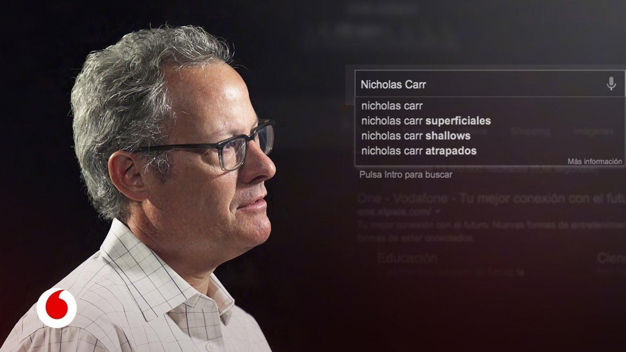 """Nicholas Carr: """"La tecnología puede desafiarnos y mejorarnos o volvernos criaturas pasivas"""
