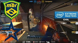 CRAZY GAME!! - MIBR vs Complexity - IEM Katowice  2020 Qualifier - CS:GO