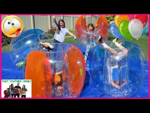 BUBBLE BALL BALLOON POP / That YouTub3 Family