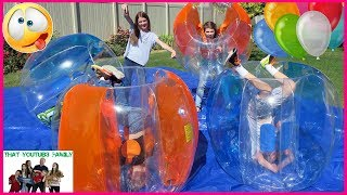 BUBBLE BALL BALLOON POP / That YouTub3 Family