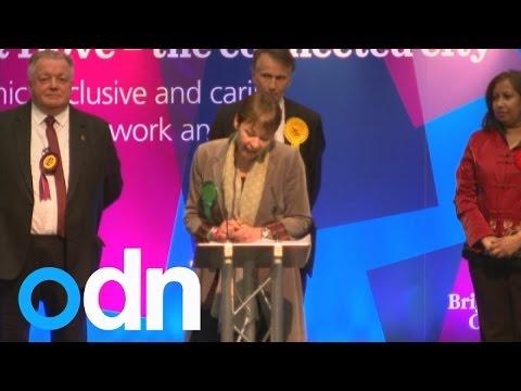 Green MP Caroline Lucas holds on to Brighton seat