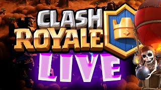 Wbijamy CHALLENGERA 3 w Clash Royale ???? 350like = Legendary Chest! - Na żywo
