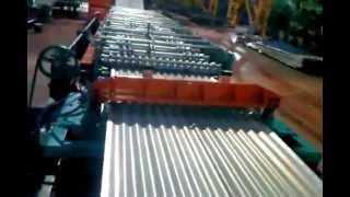 Производство трапецеидального гофрированного листа(, 2012-08-31T09:52:07.000Z)