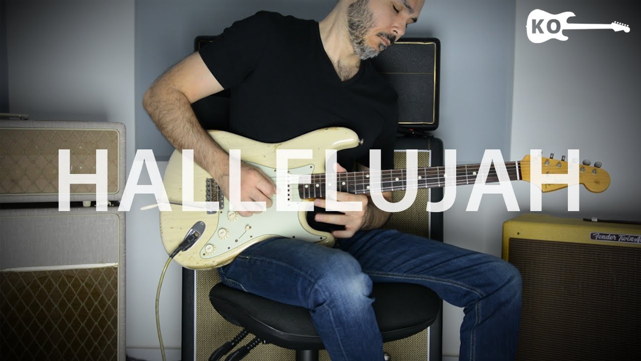 how to play hallelujah on electric guitar