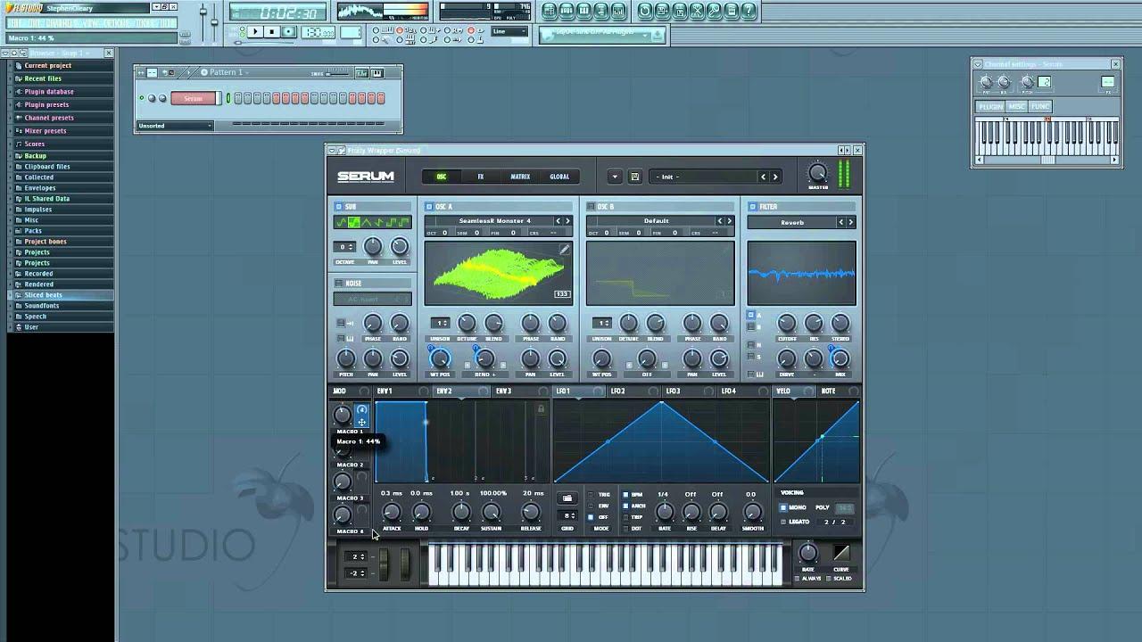Xfer Serum 1 07b4 x86 x64 - wavetable-синтезатор » VSTi
