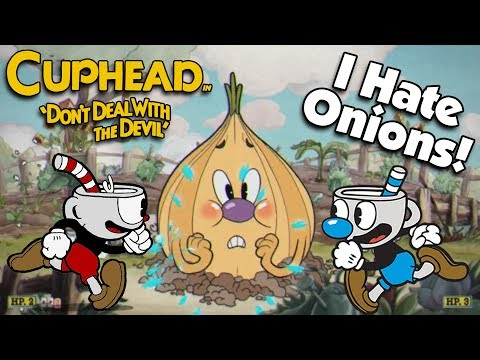 SHOOT YOUR VEGETABLES!!! Let's Play CUPHEAD - Part 1: Botanic Panic!