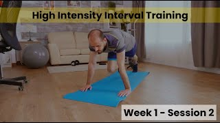 HIIT - Week 1/2 Session 2 (Control)