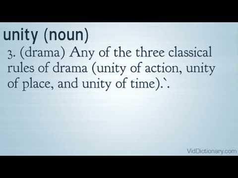 unity - definition