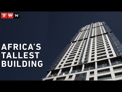Inside Africa's tallest building