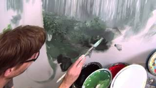 Painting A Forest - Mural Joe