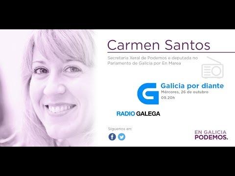 Radio Galega | Os almorzos | Entrevista Carmen Santos