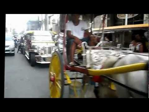 Walking on Mabini St. - Ermita, Manila