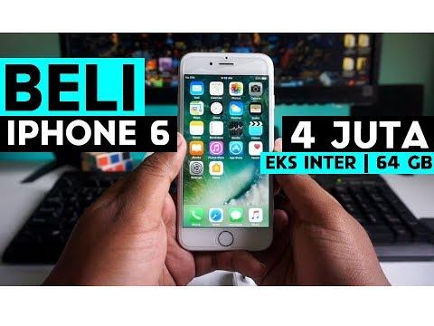 Review & Tips Beli Iphone 6 Eks Inter Indonesia | Beli Iphone 6 4 Juta?