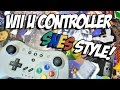 SNES Style Wii U Pro Controller - Unbox & First Look!