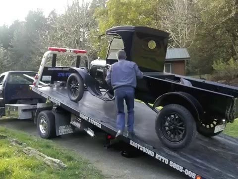 How to drive a 1924 Model T Ford Truck