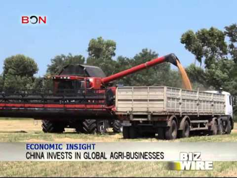China invests in global agri-businesses - Biz Wire - May 1,2014 - BONTV China
