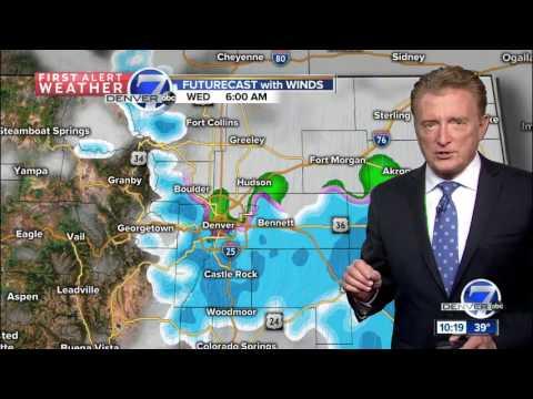 Rain and snow for Denver Metro