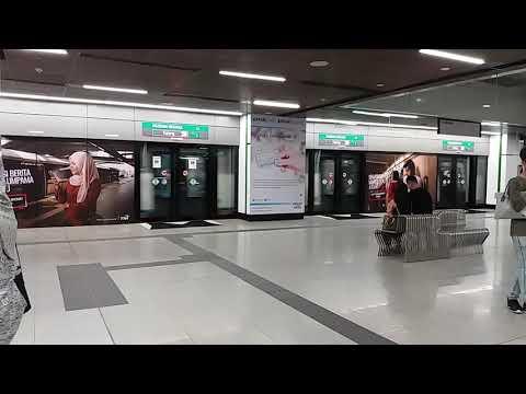 [MRT Malaysia] SBK Line - Siemens Inspiro Passing Muzium Negara