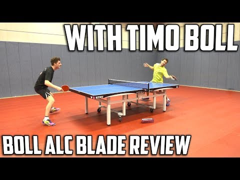 Butterfly Timo Boll ALC Blade Review | Featuring Timo Boll