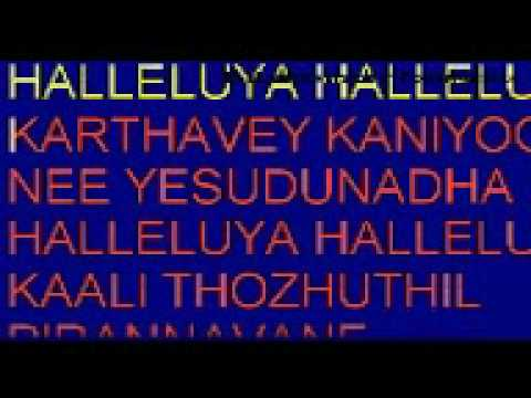 kalithozhuthil pirannavane karaoke lyrics