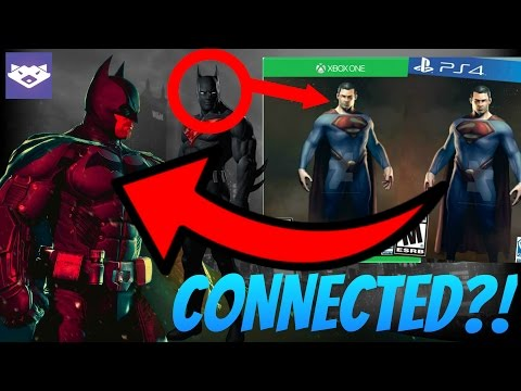 DC Video Game Extended Universe?!