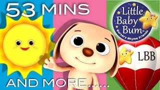 Mr Sun, Mr Golden Sun | And More Nursery Rhymes | from LittleBabyBum