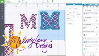 Design Space 2.0 Patterned Letters
