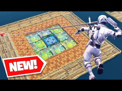 *NEW* Fortnite GRAPPLER ZERO GRAVITY SKEE BALL Custom Gamemode In Playground V2 W/ Tewtiy & Biffle