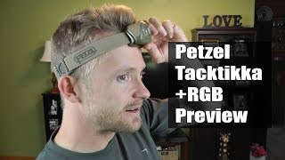 petzl Tactikka RGB head lamp