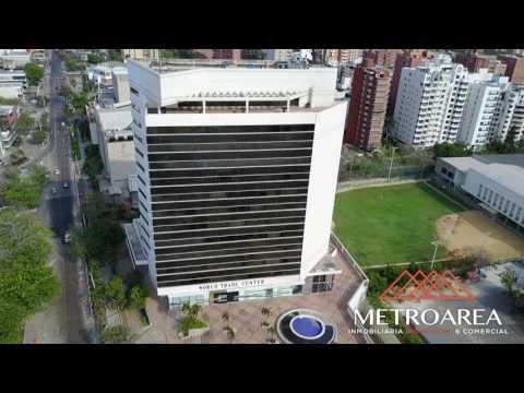 OFICINAS WORLD TRADE CENTER VIDEO DRONE 1-Metroarea Inmobiliaria Barranquilla- Colombia