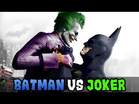 BATMAN VS JOKER (EL GUASON) - Batallas de SUPERHEROES