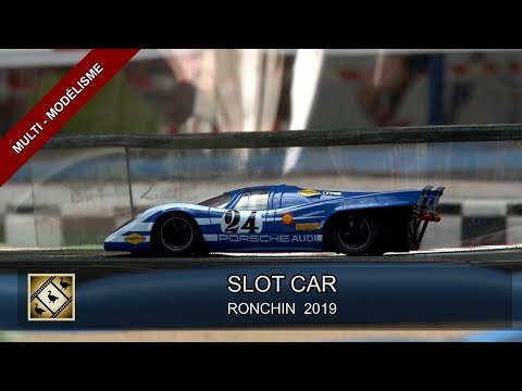 COMPÉTITION DE SLOT CAR AU RONCHIN MODEL CLUB (10/11/2019)