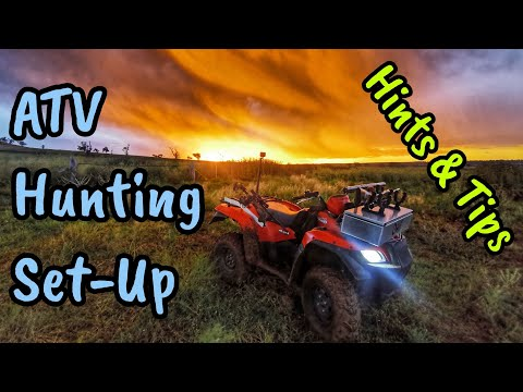 ATV Hunting Setup - My Quadbike Build And Details - Suzuki King Quad