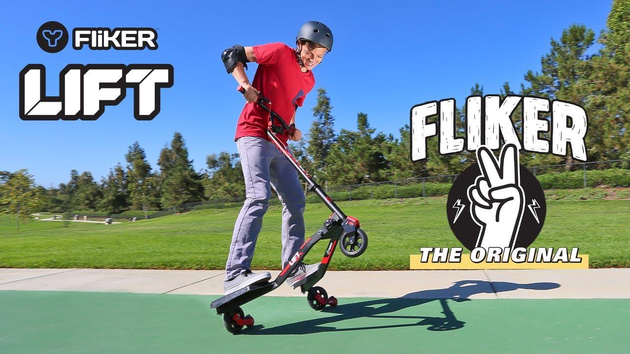 1a56ba138c855 Yvolution Y Fliker LIFT - Kids Scooter - YouTube