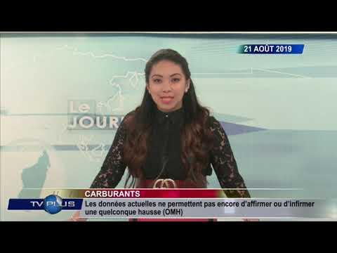 JOURNAL DU 21 AOUT 2019 BY TV PLUS MADAGASCAR