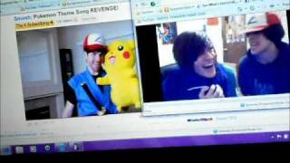 Smosh Pokemon Theme Songs Side-by-Side!