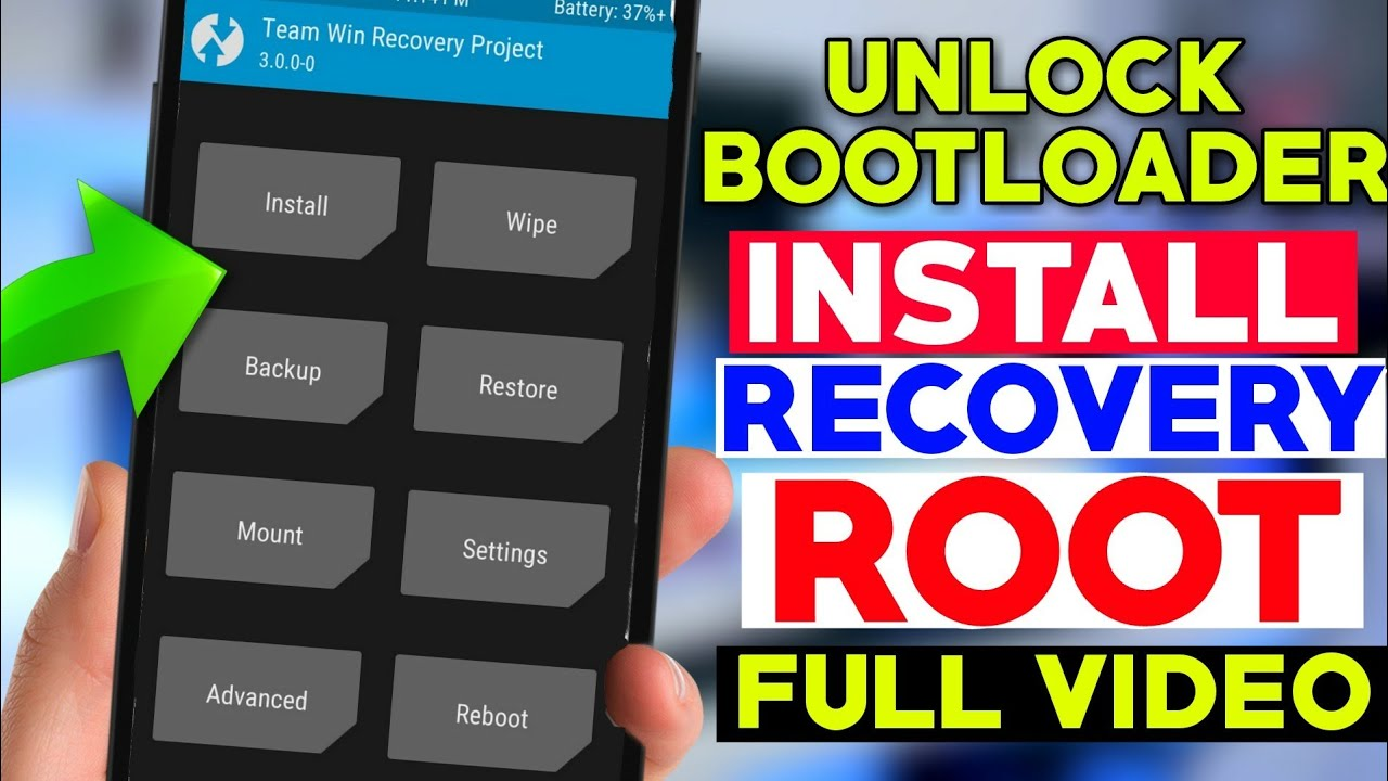 How To install RECOVERY + Unlock BOOTLOADER + ROOT Of Any Mi Android