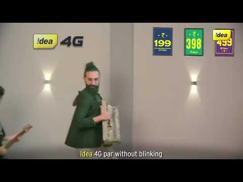 IDEA 4G AD || Dekhte jao Dekhte jao || funny ad idea 4g