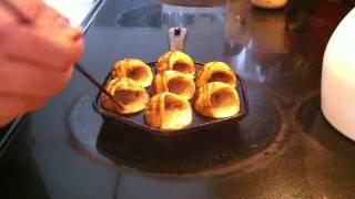 Cooking Aebleskiver