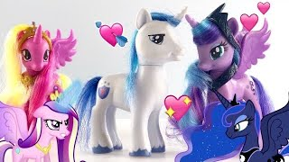 MLP: Shining Armor loves Princess Luna!?