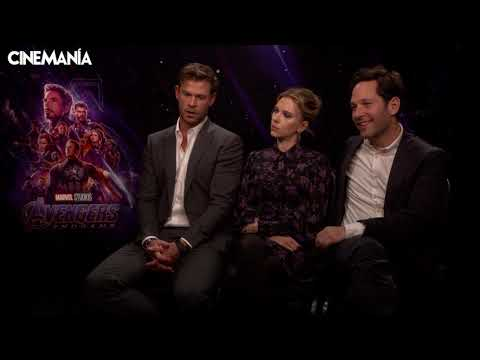 'Vengadores: Endgame' - Entrevistamos a Chris Hemsworth, Scarlett Johansson y